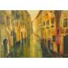 """""""Венеция"""". Большая картина маслом в интерьер."""